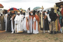 Pictures of Ethiopian  Epiphany and Easter processions