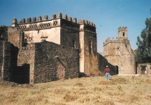 Pictures of Fasilados Castle and Felasha Village, Gonder
