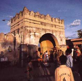 Picture of old City Wall, Harar
